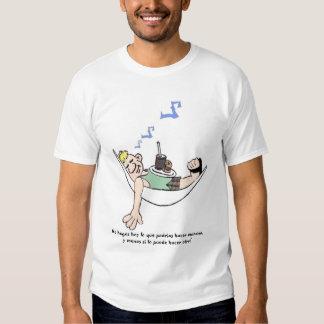 No perturbe camisetas