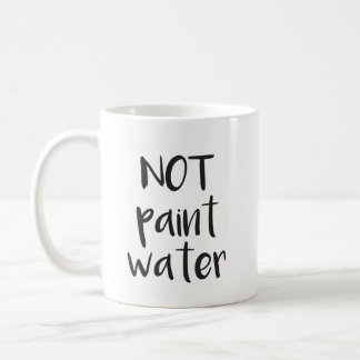 No pintar la taza del agua