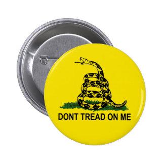 No pise en mí pins