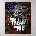 No pise en mí el poster de la libertad