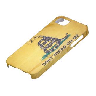 No pise en mí la caja del iPhone 5 de la bandera iPhone 5 Fundas