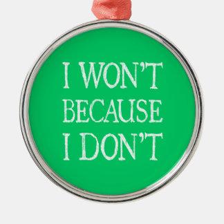 No porque no lo hago ornamentos para reyes magos