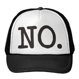NO ¡Productos y diseños! Gorros