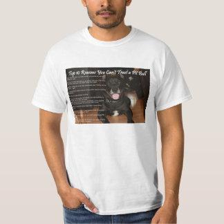 No puede confiar en un Pitbull Camisetas