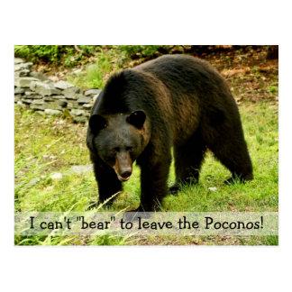 """No puede """"llevar"""" dejar la postal de Poconos"""