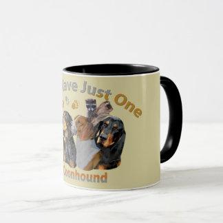 No puede tener tazas de apenas un perro del Coon
