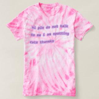 No pueden hablar, los gatos ocupados camiseta