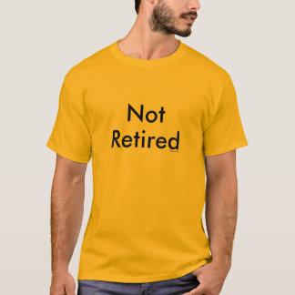 No retirado camiseta