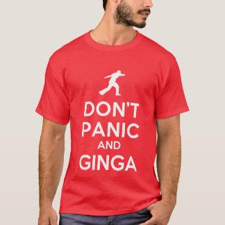 No se atierra y la camiseta de Ginga Capoeira