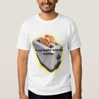 No se bañe con esta tostadora camisetas