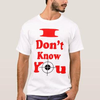No sé la camisa del Usted-Músculo (1)