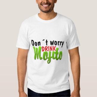 No se preocupe camisas