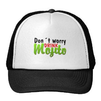 No se preocupe gorra