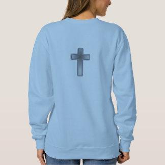 No se preocupe la cruz de la camiseta w/Blue