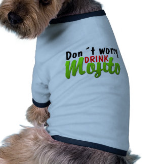 No se preocupe ropa de perros