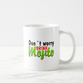 No se preocupe taza