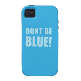 No sea azul iPhone 4/4S carcasas