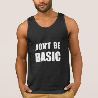 No sea básico camiseta de tirantes