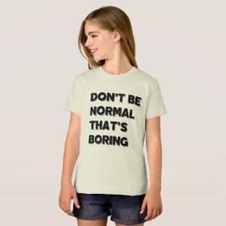 No sea camiseta normal de American Apparel de los