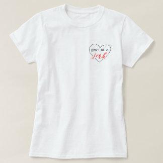 No sea una camiseta del tirón