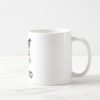 No sin mi perro taza de café