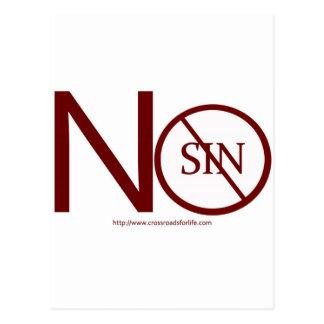 no-sin-RED2-tag Tarjeta Postal