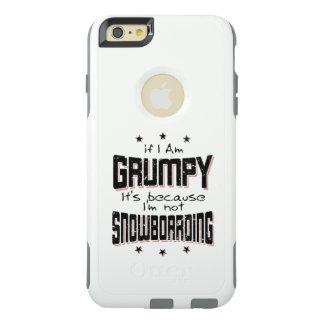 No SNOWBOARD GRUÑONA (negro) Funda Otterbox Para iPhone 6/6s Plus