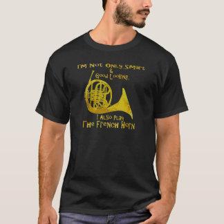 No sólo trompa elegante camiseta