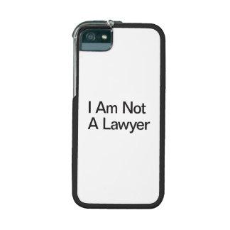 No soy abogado