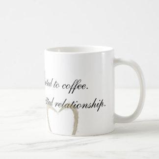 No soy adicto taza de café