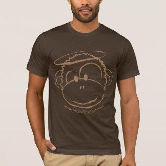 No soy camisetas malvado - mono de Brown
