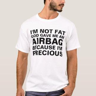 No soy el decir gordo del humor del saco hinchable camiseta