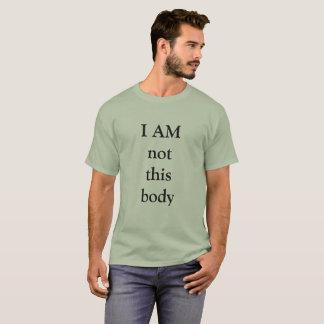 NO SOY este cuerpo Camiseta