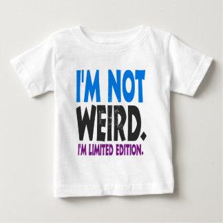 No soy extraño, yo soy edición limitada camiseta de bebé