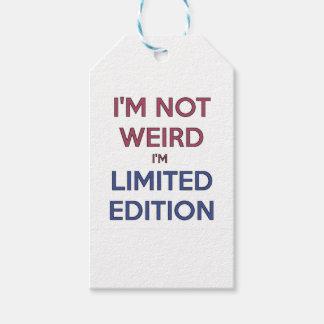 No soy extraño yo soy humor adolescente de la cita etiquetas para regalos