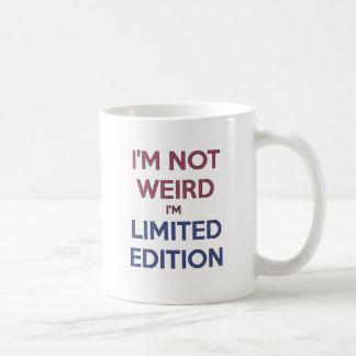 No soy extraño yo soy humor adolescente de la cita taza de café