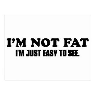 No soy gordo postal