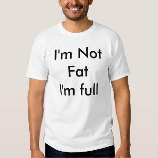 No soy gordo yo soy lleno camisas