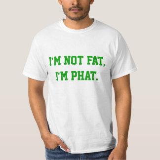 No soy gordo, yo soy phat. camisas