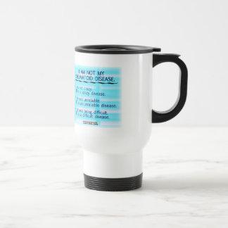 No soy mi taza reumatoide de la enfermedad