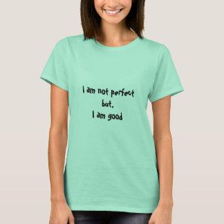 No soy perfecto, la camiseta de la mujer