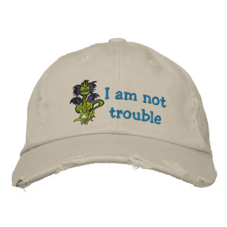 No soy problema gorra bordada