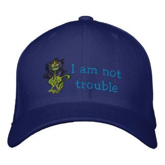 No soy problema gorra de beisbol bordada