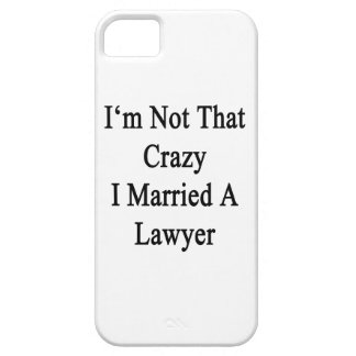 No soy que loco casé a un abogado iPhone 5 coberturas