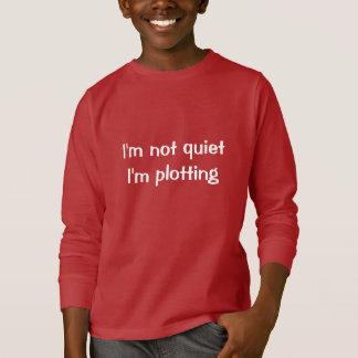 No soy reservado yo estoy trazando camiseta
