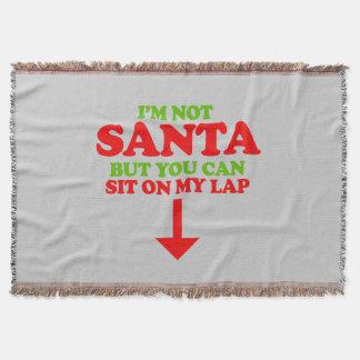 No soy Santa -- Humor del día de fiesta Manta