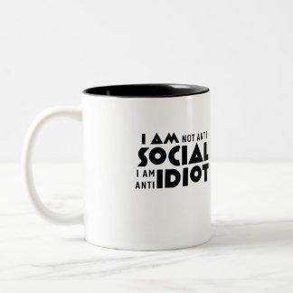 No soy social anti a la taza anti del friki del