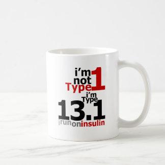 No soy tipo 1 - soy el tipo 13,1 taza clásica