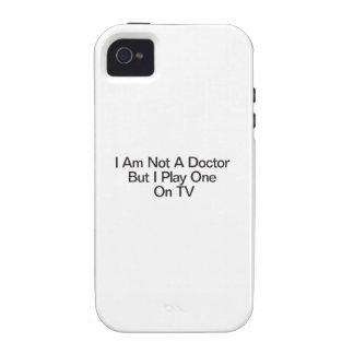 No soy un doctor But I Play uno en la TV iPhone 4/4S Funda