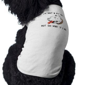 No soy un pitbull pero tan qué si era camiseta sin mangas para perro